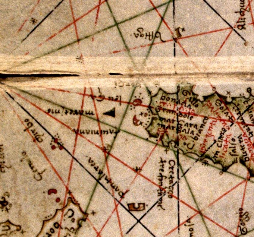 foto Atlante nautico Manoscritto